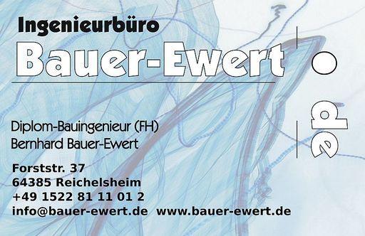 Dipl.-Bauing. (FH) Bernhard Bauer-Ewert Logo