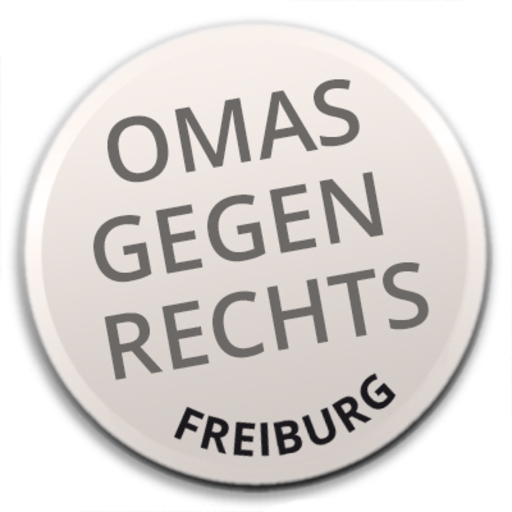 Omas gegen Rechts Freiburg für Demokratie und Menschenwürde e.V. Logo