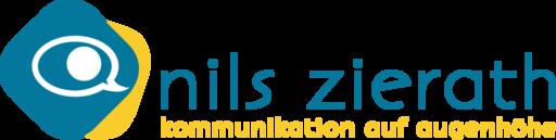 Nils Zierath • Kommunikation auf Augenhöhe Logo