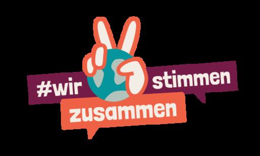 #WirStimmenZusammen Logo