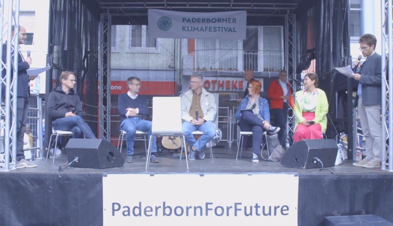 #wählbar2021 ON TOUR diskutierte mit Kandidierenden in Paderborn – zur Aufzeichnung