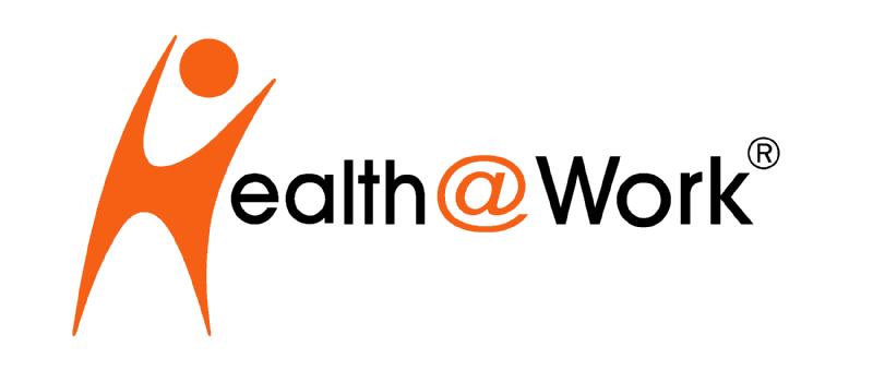 Health at Work, Gesundheitsförderung am Arbeitsplatz Logo